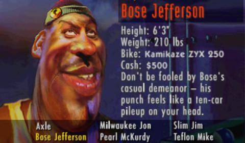 Road Rash - Bose Jefferson