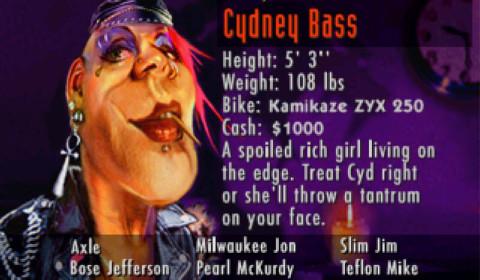Road Rash - Cydney Bass