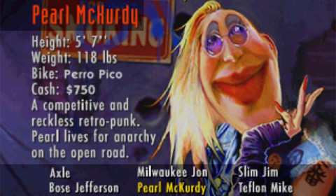 Road Rash - Pearl McKurdy