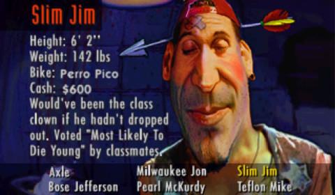 Road Rash - Slim Jim